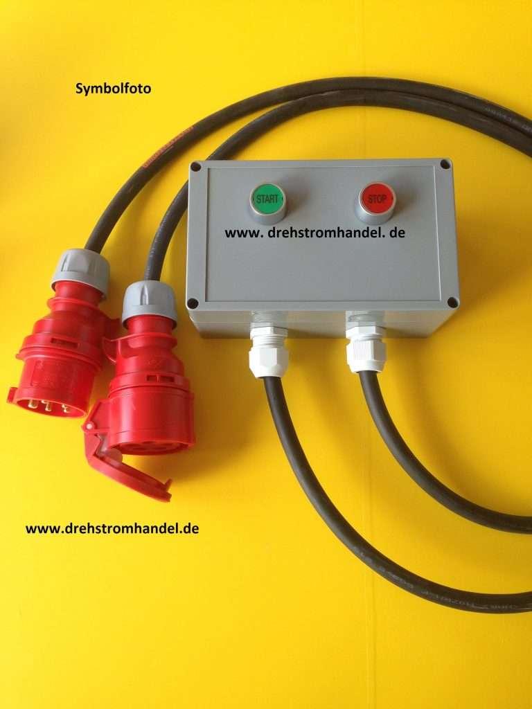 Drehstrom / Kraftstrom Schalter mit beleuchteten Tasten